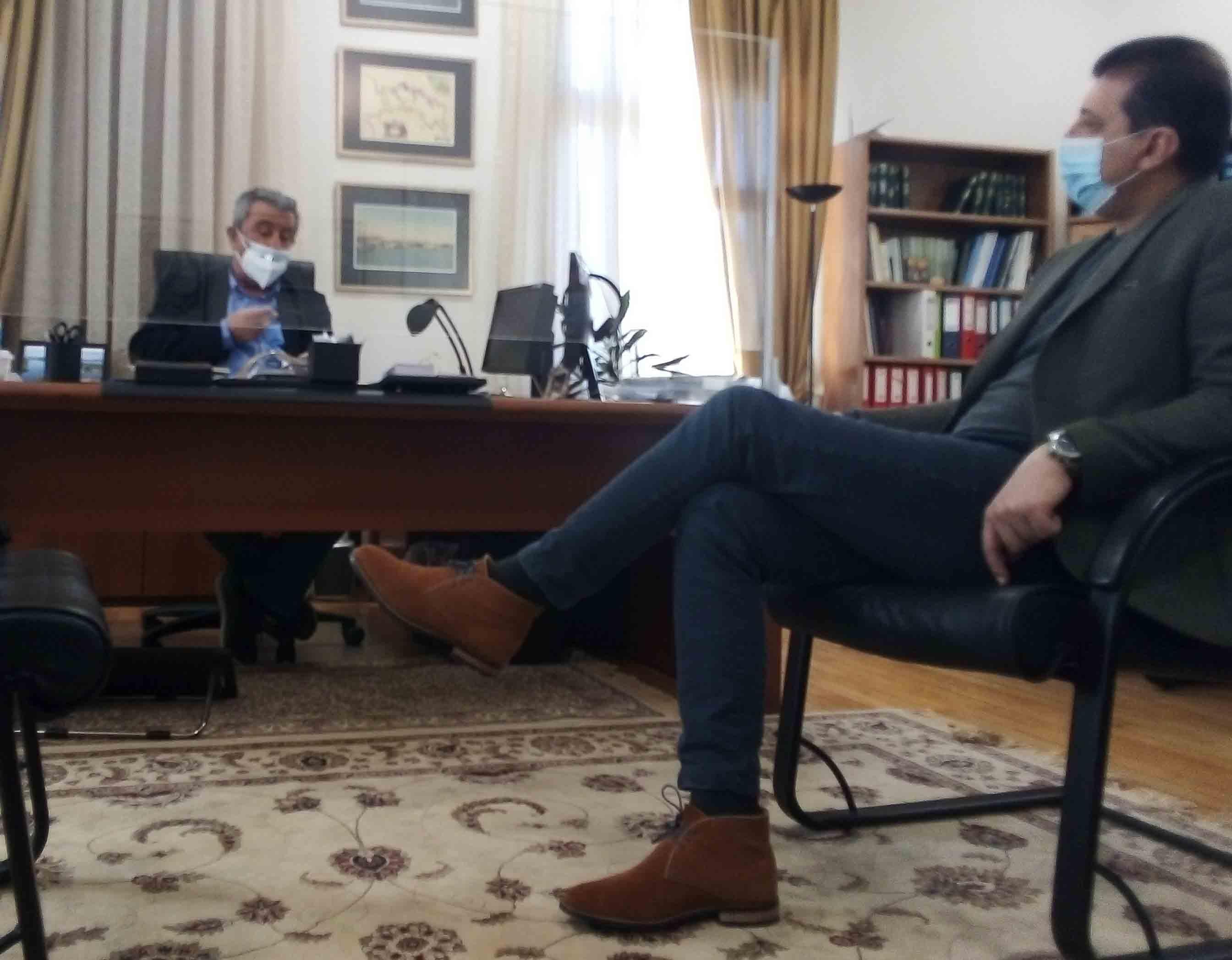 Δελτίο τύπου για τη συνάντηση του Δημάρχου Δωδώνης και προέδρου της ΠΕΔ Ηπείρου με τον συντονιστή της Αποκεντρωμένης Διοίκησης Ηπείρου - Δυτικής Μακεδονίας